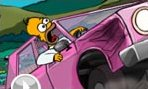Homer Simpson Voiture
