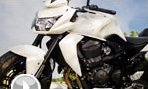 White Motorcycle Jigsaw Puzzle