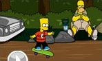 Bart Simpson En Skateboard